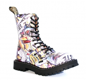 GLANY STEEL 10 DZIUREK GRAFFITI 36-41